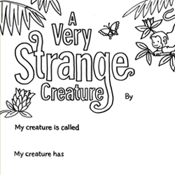 make your own very strange creature layn marlow childrens book