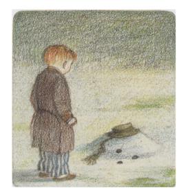 Raymond Briggs' Snowman final image