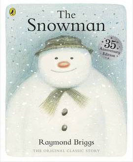 Raymond Briggs' The Snowman cover