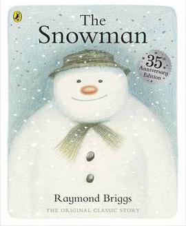Raymond Briggs' The Snowman cover