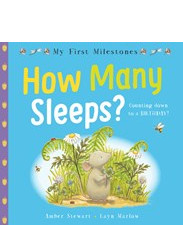 My First Milestones: How Many Sleeps?